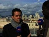 """Pape Diouf défend des """"valeurs humanistes"""" à Marseille - 26/02"""