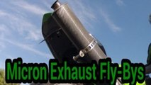 2003 Kawasaki ZX-6R Fly-Bys - Canon vixia HF10 Dolby Surround sound (1080P HD)