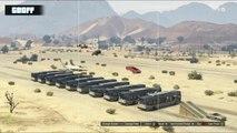 GTA 5 : Saut au-dessus d'un avion et des bus
