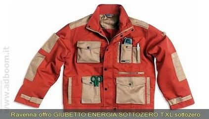 RAVENNA, FAENZA   GIUBETTO ENERGIA SOTTOZERO T:XL EURO 25