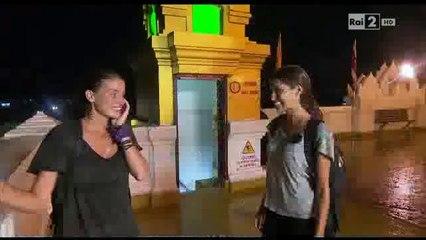 Pechino express - telefonata finale