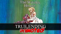THE WITCH'S HOUSE TRUE ENDING REACTION - Guest Starring: MangaMinx - Animated Short
