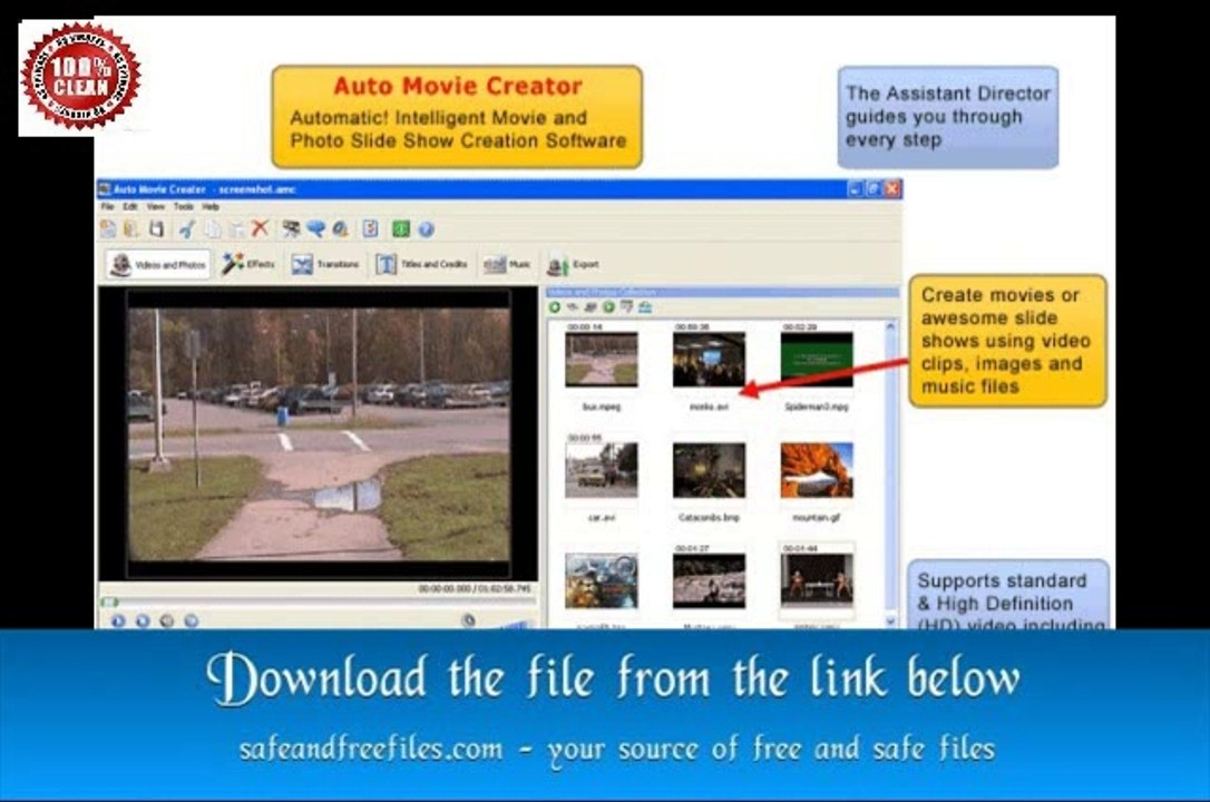 auto movie creator 3.26 free download serial key