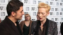 """""""Only Lovers Left Alive"""" Actress Tilda Swinton #InTheLab"""