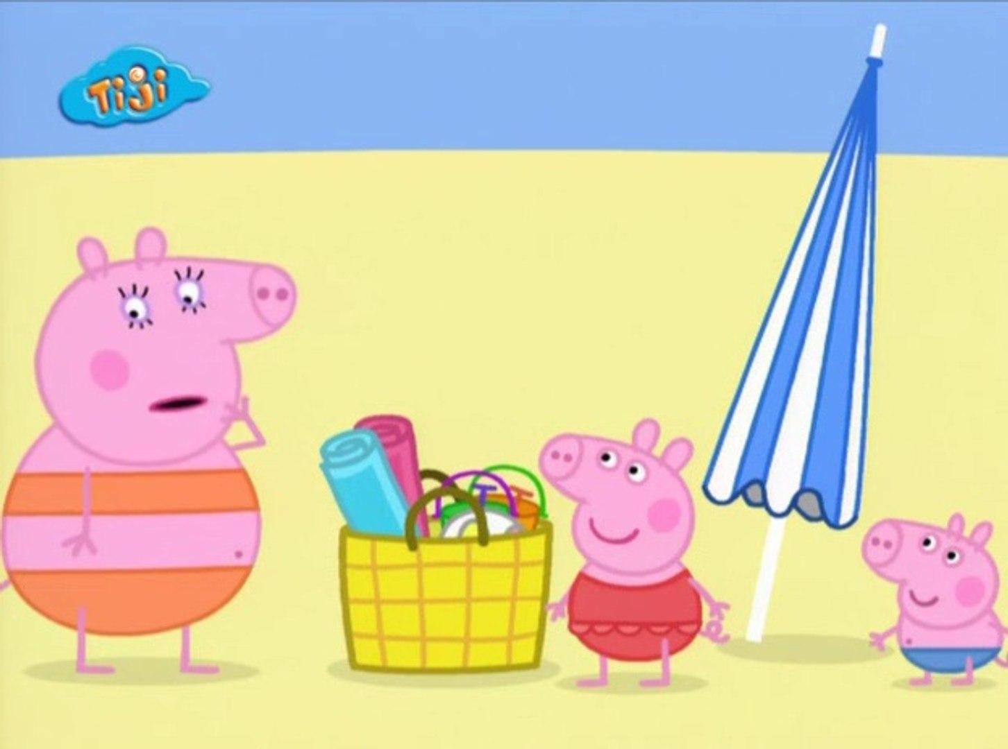 Peppa Pig A La Plage