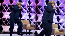 Hillary Rodham Clinton Dodges Rogue Shoe Thrower