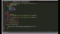 jQuery and AJAX Tutorials 46   Logging in with jQuery