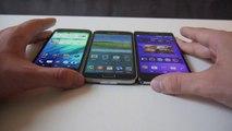 Sony Xperia Z2 vs. HTC One M8 vs. Samsung Galaxy S5 im Vergleich [Deutsch]