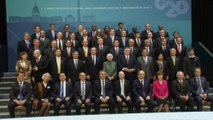 G20 finance, banking officials smile for class photo