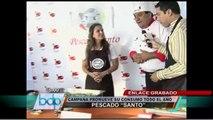 Pescado Santo 2014: Presentan innovadores platos hechos a base de pescado
