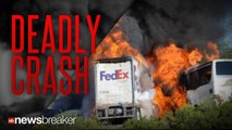 DEADLY CRASH: Bus Full of High School Students Crashes with Tractor Trailer Killing 10 People