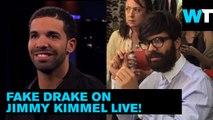 Fake Drake Hits the Streets for Jimmy Kimmel | Trending Now