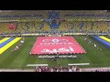 لقطات احترافية لمباراة النصر والتعاون 1-1 والتتويج الاسطوري  لم يسبق له مثيل للعالمي ببطولة الدوري 2014