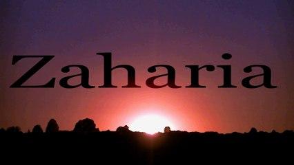 #Zaharia din #Biblia #Romana de #DrRaru in #2014