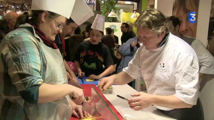 SIA 2014 : Engouement ateliers cuisine