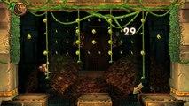 Donkey Kong Country: TF. Huracán rambi 3-3 - Gameplay - 100% puzzles y letras