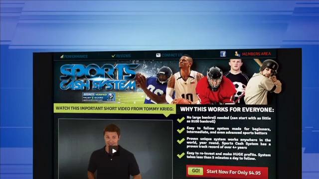 Sports Cash System – NFL Football