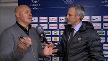 L'après-match d'Alain Roche avec José Anigo, Paris SG / Marseille