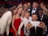 selfie de STARS aux OSCARS