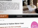 Hotel wedding venues kent by Hadlow Manor Hotel