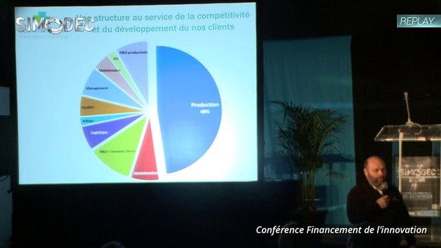 Conférence Financement de l'Innovation - Simodec 2014