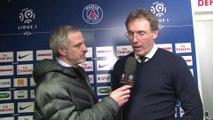 L'après-match d'Alain Roche avec Laurent Blanc, Paris SG / Marseille