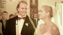 Real Wedding: Evgeny and Masha in Santorini, Greece