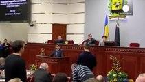 Manifestantes prorrusos irrumpen en la sede de la delegación del gobierno en Donetsk