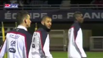 Football / Amical : Les Bleus se sont entraînés - 03/03