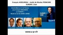 François Asselineau? Europe 1 -  Débat sur la loi Fioraso