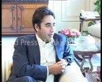 Chairman Pakistan People's Party (PPP) Bilawal Bhutto Zardari calls on PM