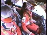 Rallye crash-wrc-mistubishi accident