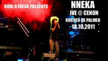 Nneka Live @ Cenon Le Rocher De Palmer 18.10.2011 Heartbeat