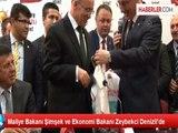 Maliye Bakanı Şimşek ve Ekonomi Bakanı Zeybekci Denizli'de