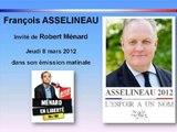 François Asselineau chez Robert Ménard - Sud Radio