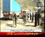 Firing on NATO containers in KA leaves 2 dead