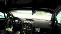 Lamborghini Gallardo Super Trofeo Onboard