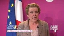 Catherine Trautmann - Lancement de la campagne des élections européennes «Choisir notre Europe»