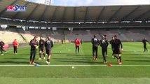 """Football / Amical : Les Diables Rouges préparent le match contre la Côte d'Ivoire"""" 04/03"""