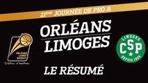Le Résumé - J21 - Orléans reçoit le CSP Limoges