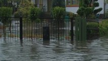 Christchurch streets flooded after one of the worst storms since 1975