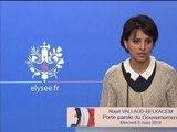 """Buisson: une """"affaire exceptionnellement grave"""" selon Najat Vallaud-Belkacem - 05/03"""