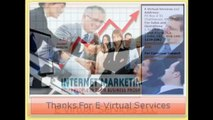 Find Reliable Internet Marketing Services India – E Virtual Services