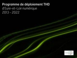 Programme de déploiement de l'internet à très haut débit d'Eure-et-Loir numérique 2013-2022