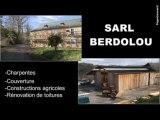 Berdolou Sarl à Lucq-de-Béarn. Charpentes et couvertures.