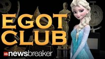 """""""Let it Go"""" Writer Robert Lopez Joins the EGOT Club; Becomes Youngest to Win an Emmy, Grammy, Oscar, and Tony Award"""