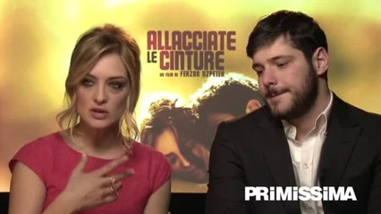 Intervista a Carolina Crescentini e Filippo Scicchitano del film Allacciate le cinture