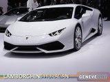 La Lamborghini Huracan en direct du salon de Genève 2014