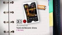 TV3 - 33 recomana - Companyia Psirc. Acrometria. Teatre de Bescanó i Teatre Kursaal de Manresa