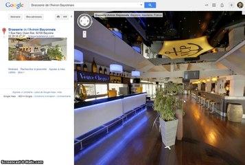 Visite Virtuelle Google RESTAURANT